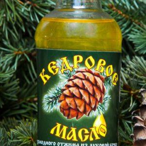 Кедровое масло холодного отжима,собственного производства (250 мл.) 1